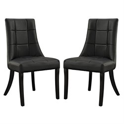 Modway Noblesse Faux Leather Dining Chair 1