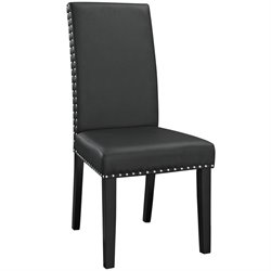 Modway Parcel Faux Leather Dining Side Chair