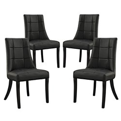 Modway Noblesse Faux Leather Dining Chair 2