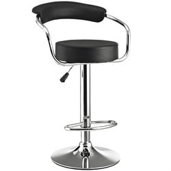 Modway Diner Adjustable Swivel Bar Stool