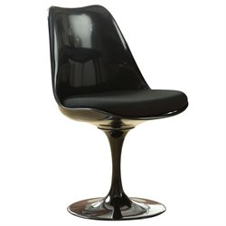 Modway Lippa Dining Side Chair in Black