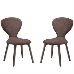 Modway Tempest Linen Dining Side Chair 1