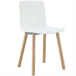 Modway Sprung Dining Side Chair in White