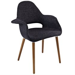 Modway Aegis Linen Dining Arm Chair 1