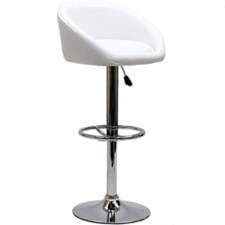 Modway Marshmallow Adjustable Bar Stool
