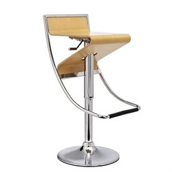 Modway Zig Zag Adjustable Swivel Bar Stool