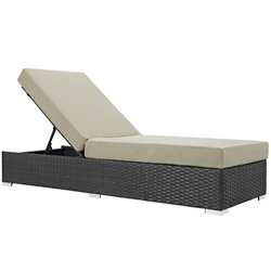 Modway Sojourn Adjustable Patio Chaise Lounge
