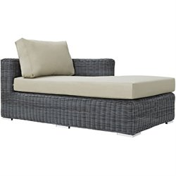 Modway Summon Right Arm Patio Chaise Lounge