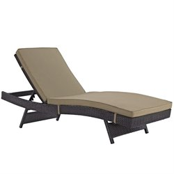 Modway Convene Adjustable Patio Chaise Lounge 1