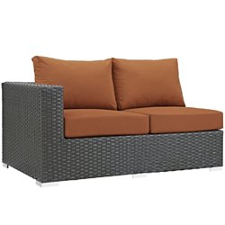 Modway Sojourn Patio Left Arm Loveseat