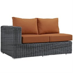 Modway Summon Patio Left Arm Loveseat