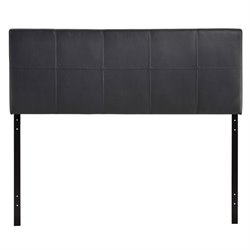 Modway Oliver Panel Headboard in Black