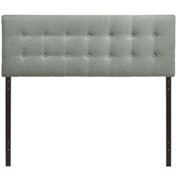 Modway Emily Panel Headboard in Gray