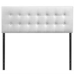 Modway Emily Panel Headboard in White