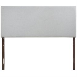 Modway Region Panel Headboard in Sky Gray