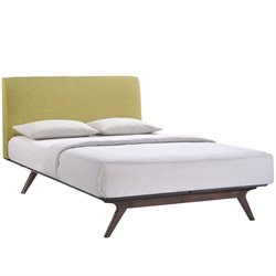Modway Tracy Panel Bed in Green