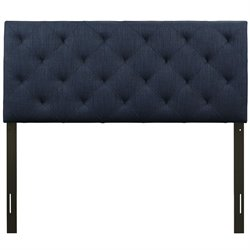 Modway Theodore Panel Headboard in Navy