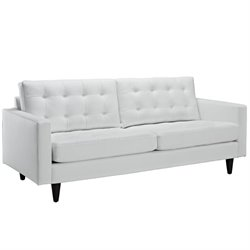 Modway Empress Leather Tufted Sofa