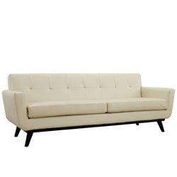 Modway Engage Leather Sofa
