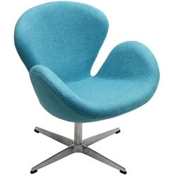 Modway Wing Wool Accent Chair