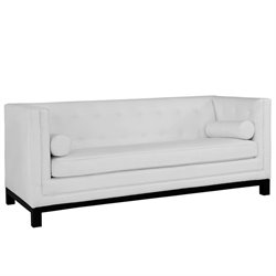 Modway Imperial Leather Tufted Sofa