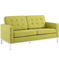Modway Loft Fabric Tufted Loveseat