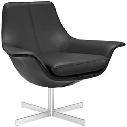 Modway Release Vinyl Swivel Accent Chair