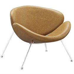 Modway Nutshell Vinyl Accent Chair