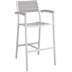 Modway Maine Outdoor Patio Bar Stool