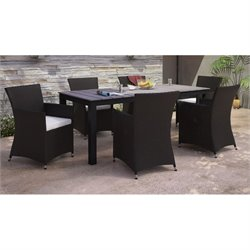 Modway Junction 7 Piece Outdoor Dining Set