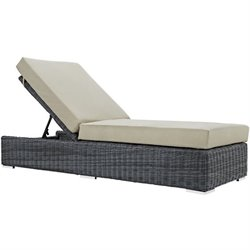 Modway Summon Patio Chaise Lounge