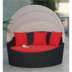 Modway Siesta Canopy Outdoor Patio Daybed