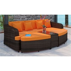 Modway Monterey 4 Piece Outdoor Sofa Set