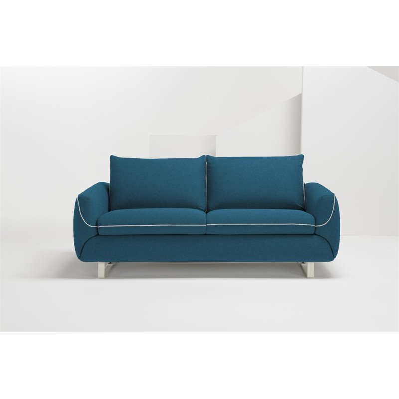 Pezzan Maestro Queen Pull Out Sofa Bed In Ocean Blue Maestro Tm066cnq