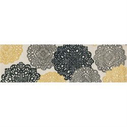 Weston Hand Tufted Wool Rug in Ivory and Charcoal