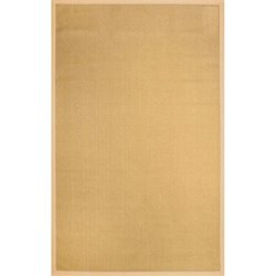 Nuloom Machine Woven Laurel Jute Rug in Beige