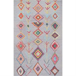 Nuloom Hand Tufted Belini Area Rug in Gray