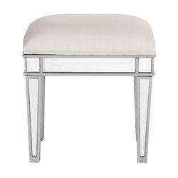 Elegant Lighting Chamberlan Mirrored Dressing Stool