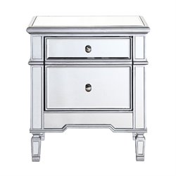 Elegant Lighting Chamberlan Mirrored Cabinet