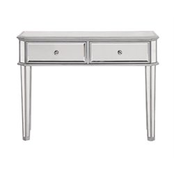 Elegant Lighting Chamberlan Mirrored Console Table