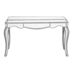 Elegant Lighting Chamberlan Mirrored Writing Desk