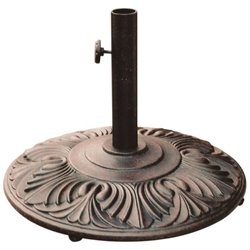 Darlee Amazon Patio Umbrella Base in Antique Bronze