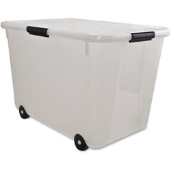 Advantus 15-gallon Rolling Storage Tub