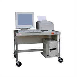 27 inch Mobile Computer Workstation