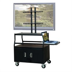 Wide Body Cabinet Cart for up to 55