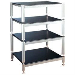 4 Shelf Audio Rack