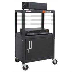 AB4226E Adjustable Cart with Cabinet