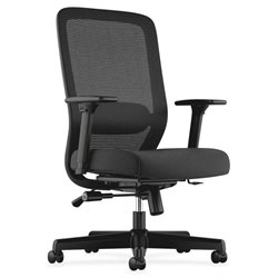 Basyx VL721 Fabric Seat Mesh High-back Chair