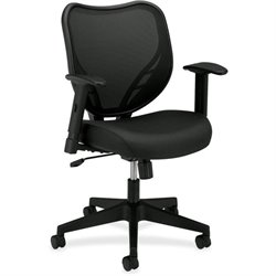 Basyx VL551 Mesh Back Fabric Seat Chair