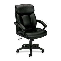 Basyx VL151 Executive High-back Leather Chair